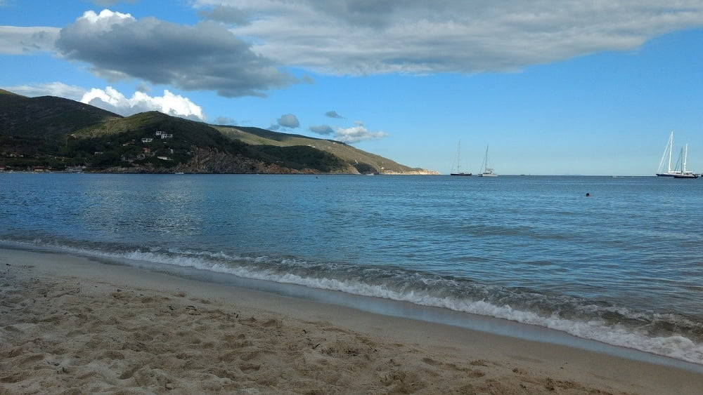 spiagge dell'isola d'Elba