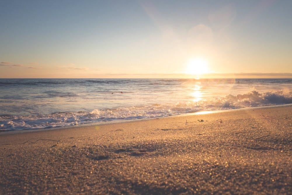 spiagge in toscana tramonto sul mare