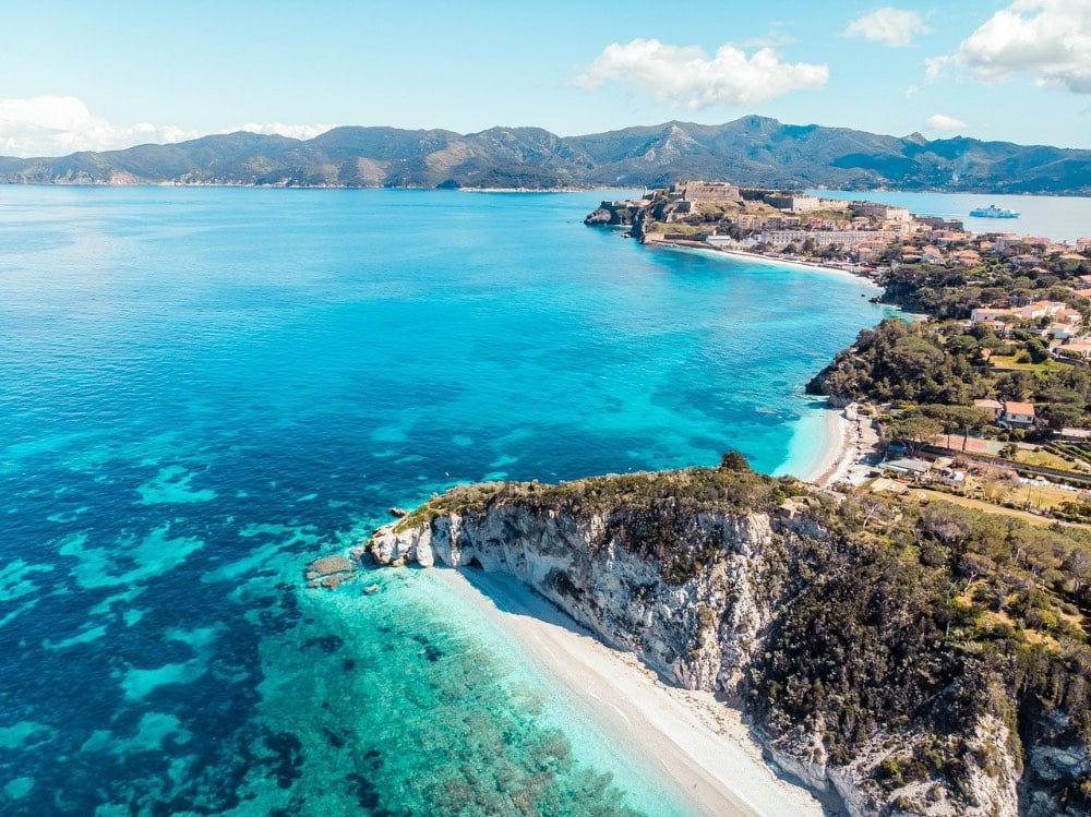 spiagge dellisola d'Elba